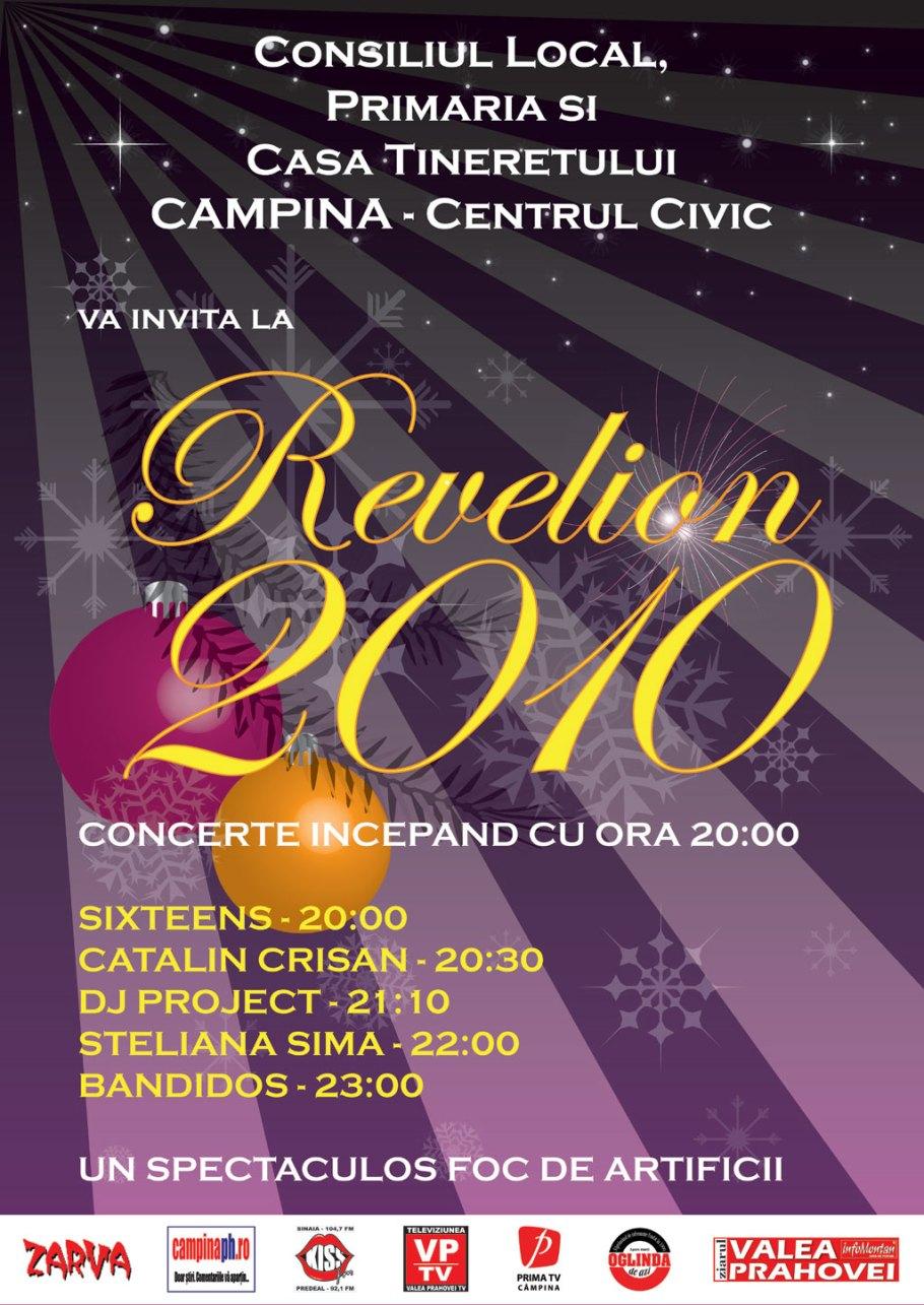 poster revelion Campina